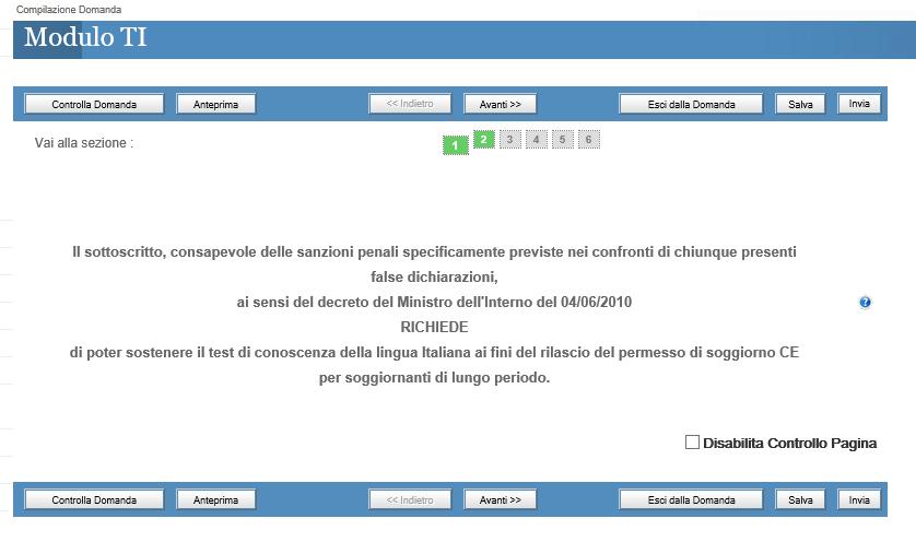 Test d\'italiano per la carta di soggiorno – portale immigrazione