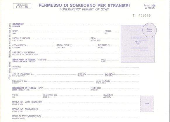 Il permesso di soggiorno provvisorio portale immigrazione for Permesso di soggiorno schengen