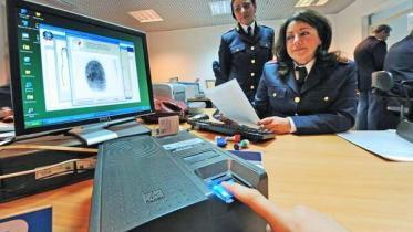 appuntamento impronte digitali