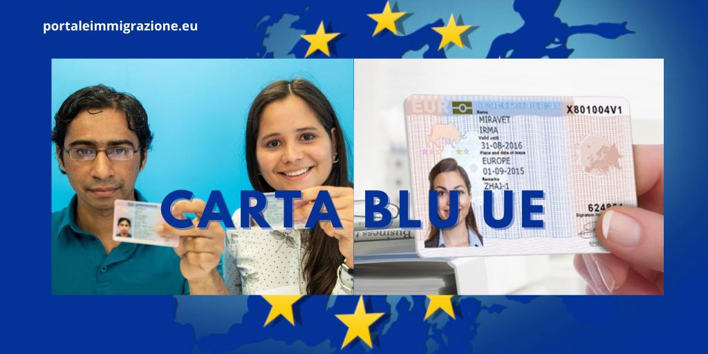 Carta Blu UE per lavoratori stranieri qualificati ...