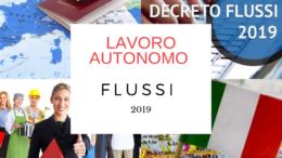 lavoro autonomo flussi 2019 imprese