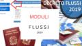 moduli decreto flussi 2019