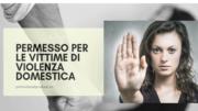 permesso di soggiorno vittime violenze domestiche