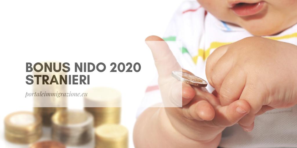 Bonus nido 2020 stranieri