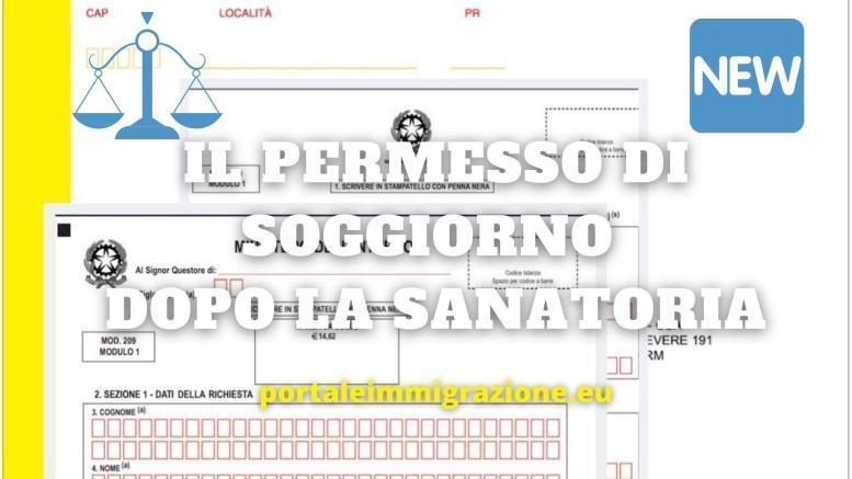 il permesso di soggiorno dopo la convocazione nella sanatoria
