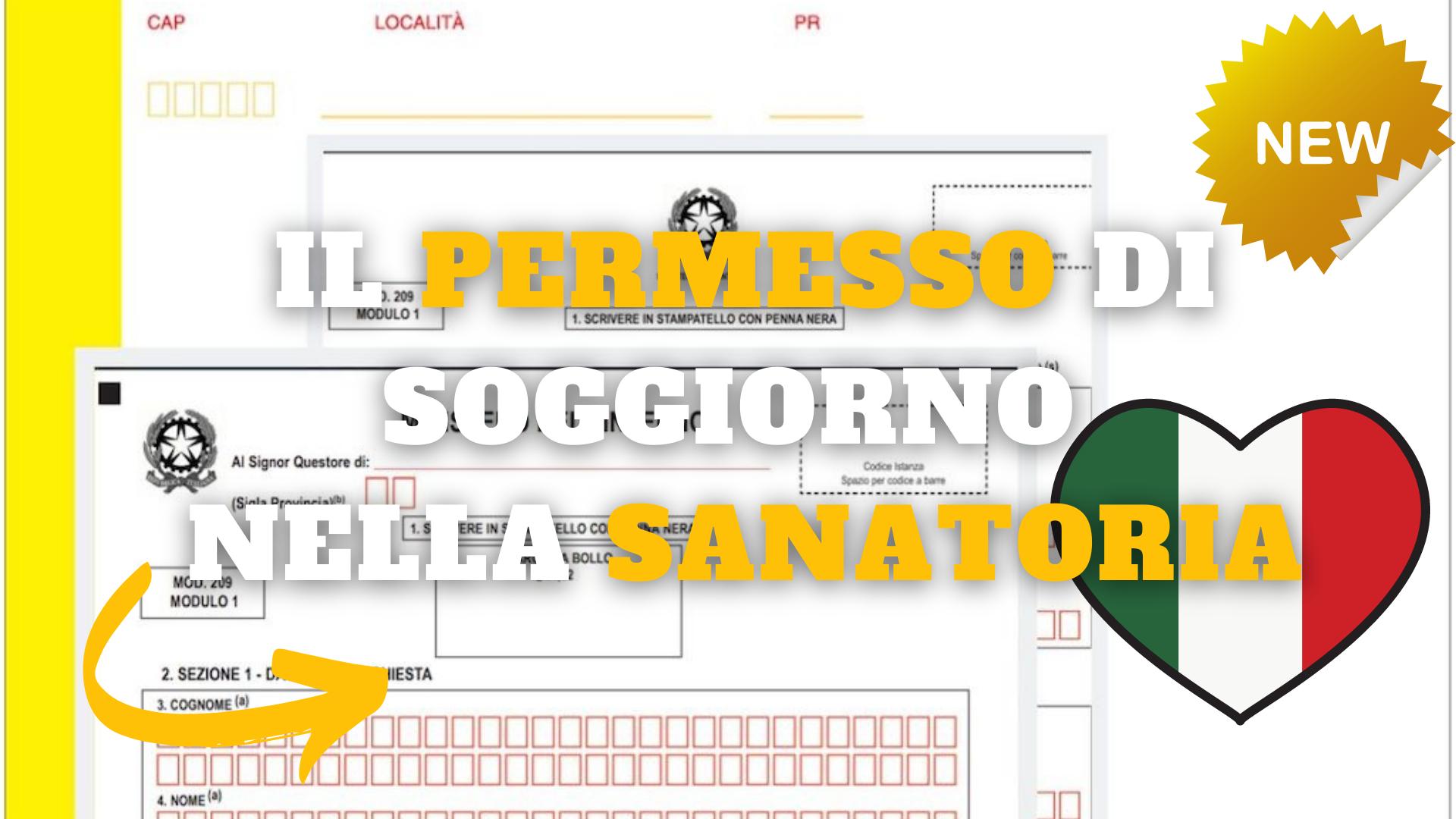 Sanatoria, il permesso di soggiorno - portale immigrazione