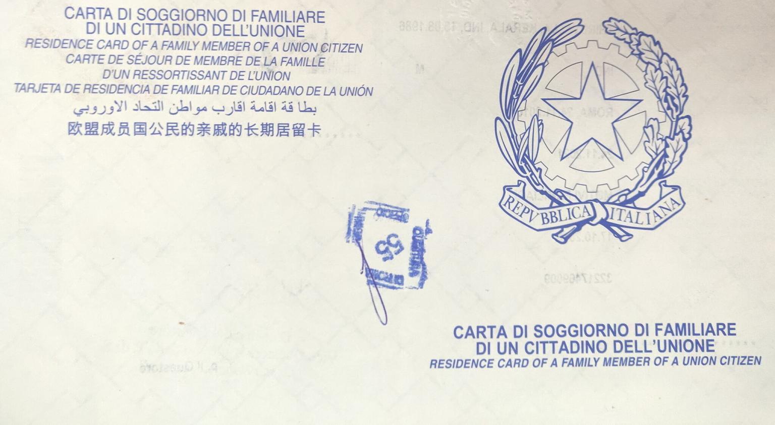 Visto per il familiare di cittadino italiano - portale ...